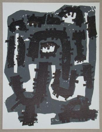 Lithograph Ubac - Gravure sur ardoise pour XXe Siècle
