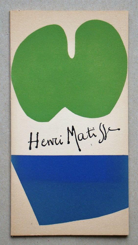 Illustrated Book Matisse - Gravures Récentes