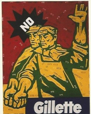 Lithograph Guangyi - Great criticism - Gillete