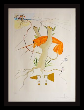 Etching Dali - Great Inventions Telephone