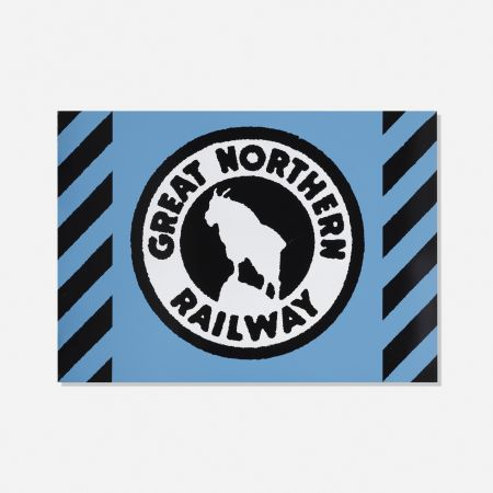 Screenprint Cottingham - Great Northern Railway