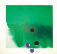 Etching And Aquatint Pasmore - Green Darkness