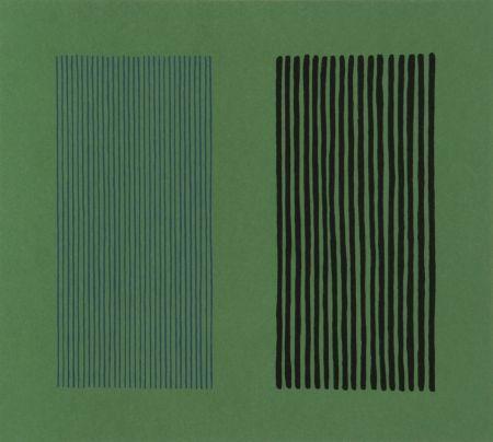 Lithograph Davis - Green Giant