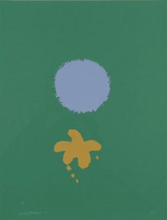 Multiple Gottlieb - Green Ground Blue Disc