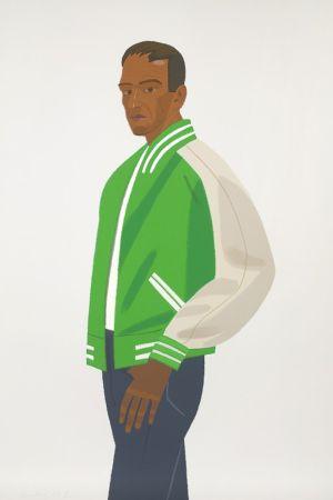 Screenprint Katz - Green Jacket (Alex and Ada Suite)