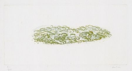 Etching Fautrier - Green trees