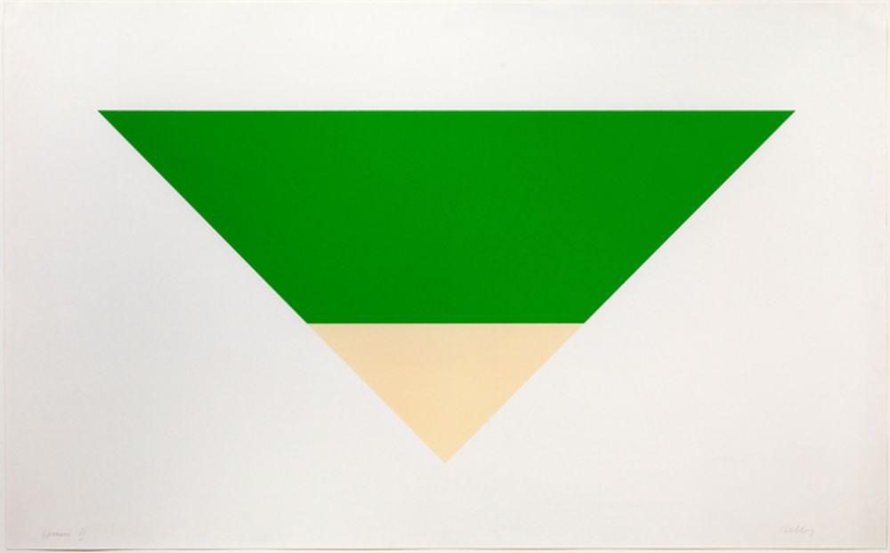 Lithograph Kelly - Green/White