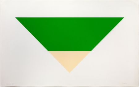 Lithograph Kelly - Green/White