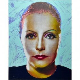 Screenprint Jasen Smith - Greta Garbo