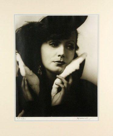 Photography Hurrell - Greta Garbo