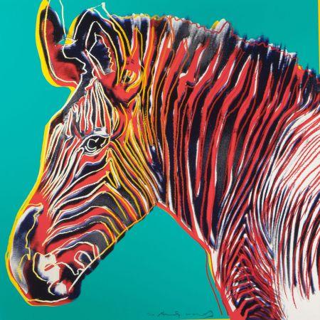 Screenprint Warhol - Grevys Zebra (FS II.300)