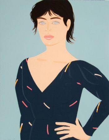 Lithograph Katz - Grey Dress (Laura) Diane von Furstenberg Dress