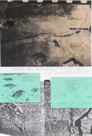 Lithograph Oppenheim - Ground Based Shape Collections