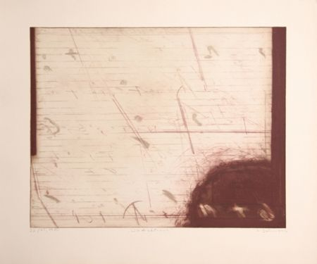 Etching And Aquatint Dahmen - Growth / A Warm Letter
