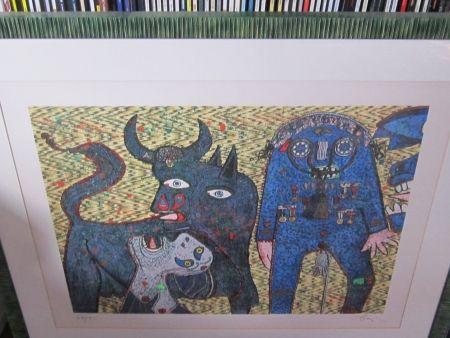 Screenprint Baj - Guernica