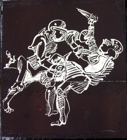 Engraving Ortega - GUERRA CIVIL