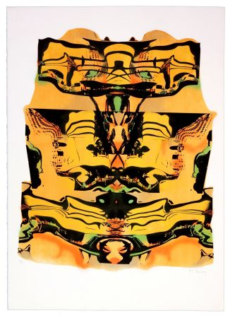 Lithograph Bury - Guggenheim