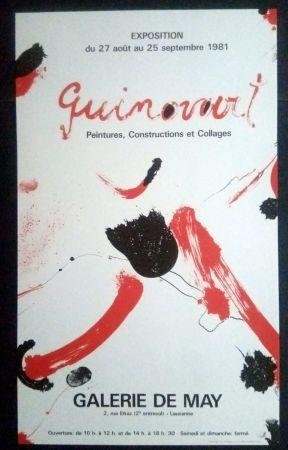 Poster Guinovart - Guinovart - Peintures construccions et collages Galeria de May 1981