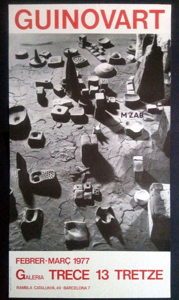 Poster Guinovart - Guinovart Galeria trece 1977