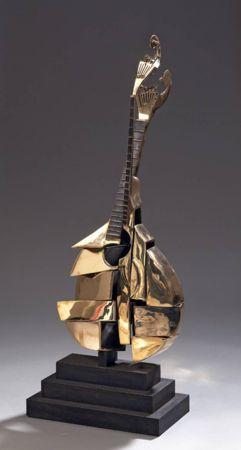 Lithograph Arman - Guitare Portugaise