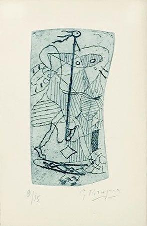 Etching Braque - Héraclite d'Ephèse