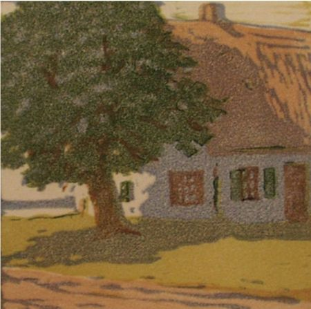 Woodcut Mass - Hütte / Cottage