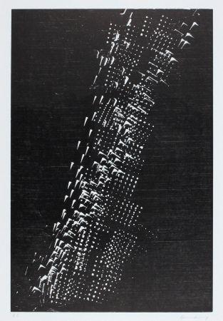 Woodcut Hartung - H-1-1976