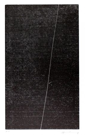 Woodcut Hartung - H-17-1973