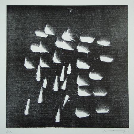 Woodcut Hartung - H-19-1973