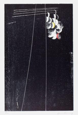 Woodcut Hartung - H-20-1973