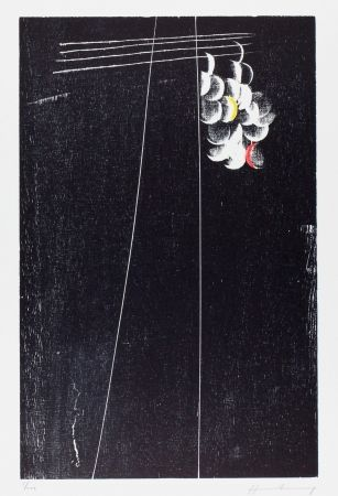 Woodcut Hartung - H-21-1973