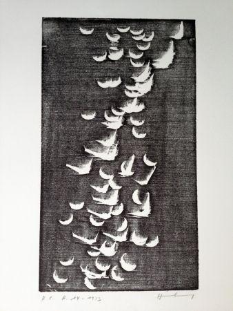 Woodcut Hartung - H 14