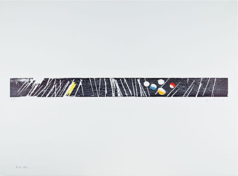 Woodcut Hartung - H 1973-23