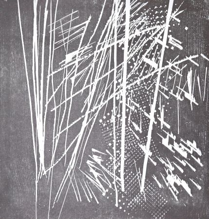 Woodcut Hartung - H 1973-9