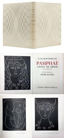Illustrated Book Matisse - H. de Montherlant: PASIPHAE. Chant de Minos. (Les Crétois) Gravures originales d'Henri Matisse (1944).
