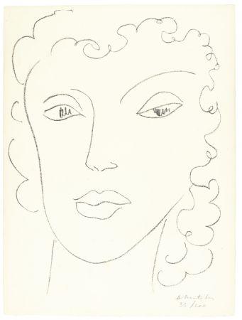 Lithograph Matisse - Haitïenne
