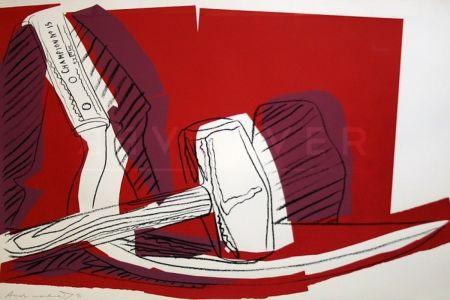 Screenprint Warhol - Hammer and Sickle (FS II.162)