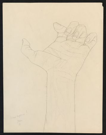 No Technical Cocteau - Hand Sketch