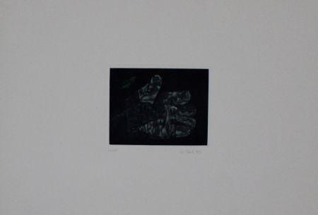 Mezzotint Ebert - Handschuh / Glove