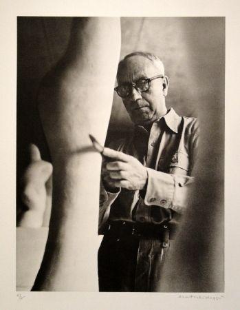 Photography Scheidegger - Hans Arp