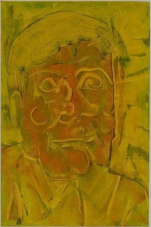 Monotype Secunda - Hans Burkhardt in Yellow