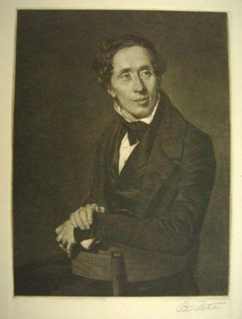 Mezzotint Ilsted - Hans Christian Andersen
