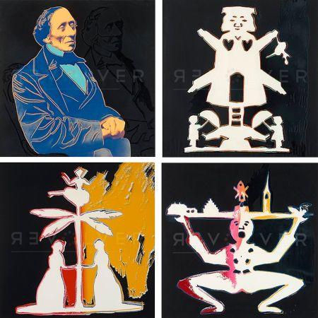 Screenprint Warhol - Hans Christian Andersen, Complete Portfolio (FS II.394-397)