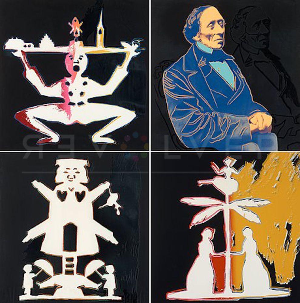 Screenprint Warhol - Hans Christian Andersen Complete Suite (FS II.398-II.401)
