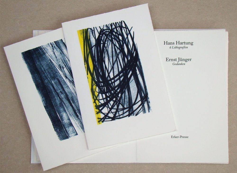 Illustrated Book Hartung - Hans Hartung 6 Lithografien & Ernst Jünger Gedanken