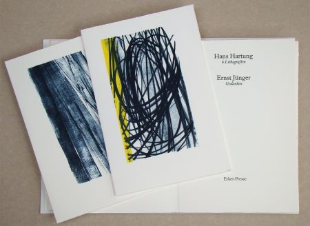 Illustrated Book Hartung - Hans Hartung 6 Lithografien & Ernst Jünger Gedanken