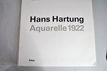 Illustrated Book Hartung - Hans Hartung Aquarelle 1922