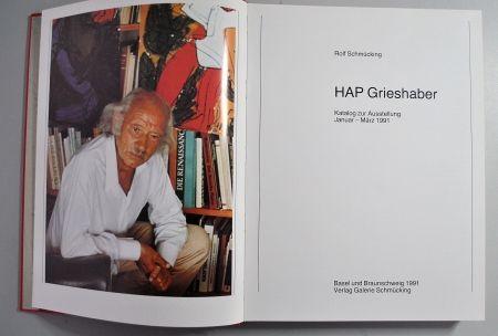 Illustrated Book Grieshaber - Hap Grieshaber Ausstellungskatalog 1991