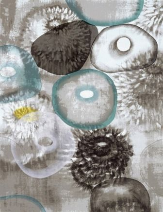 Screenprint Bleckner - Happiness For Instance II