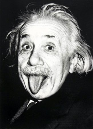 Screenprint Mr Brainwash - Happy birthday Einstein